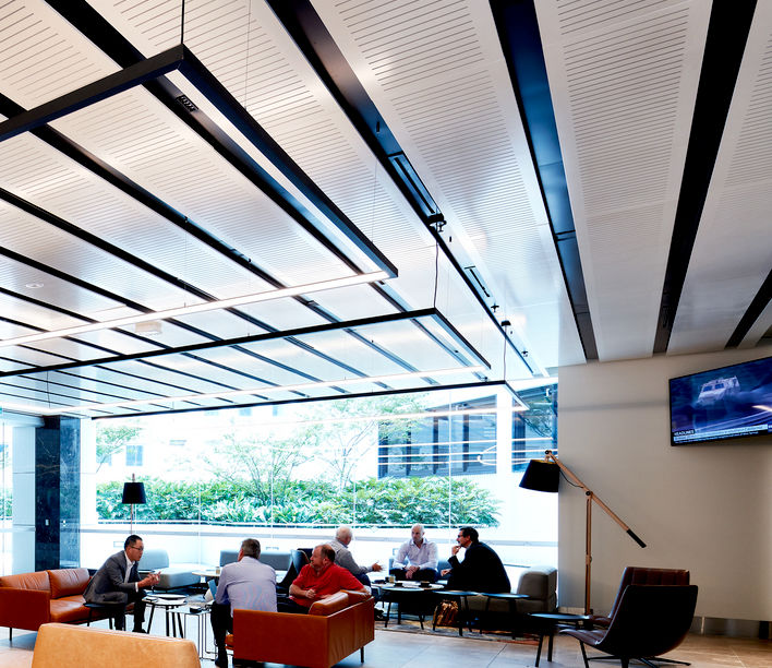 Dexus Lobby, 141 Walker St. Incorp Solutions. Photographer - Luc Remond