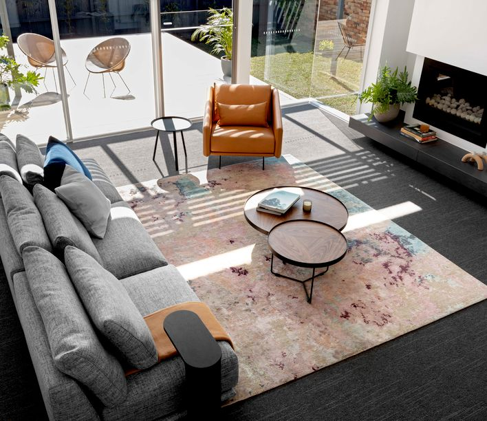 Camberwell House by Kirstin Bailey   Featuring Costura Armchair by Stua