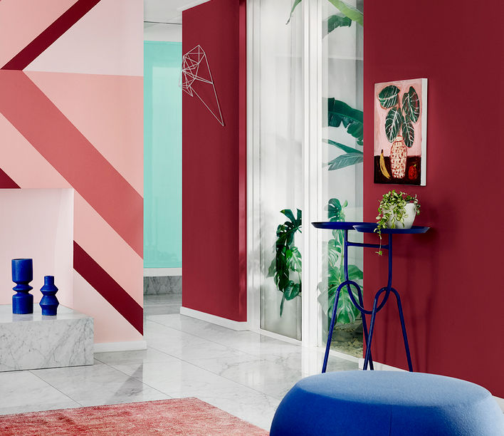 Dulux Colour Forecast 2018, styled by Bree Leech. Photographer: Lisa Cohen