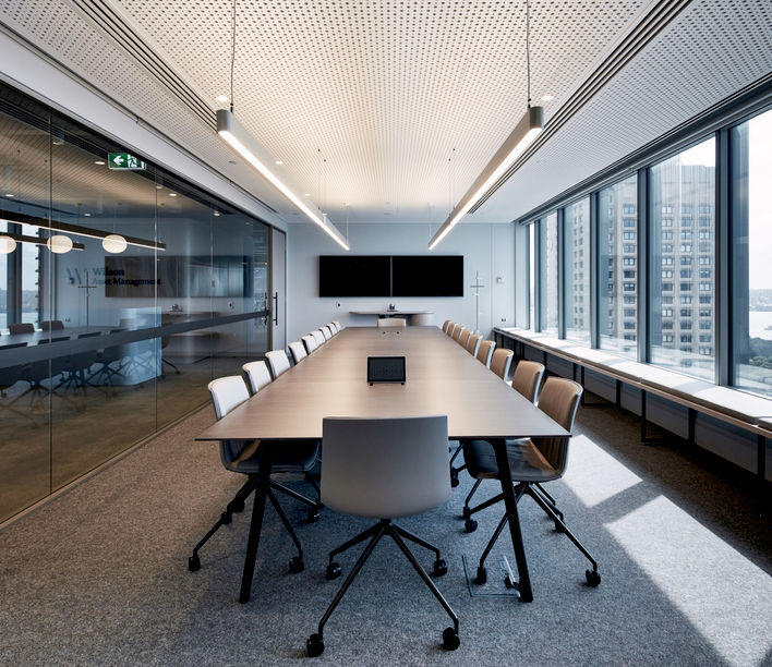 Wilson Asset Management, Futurespace. Photography: Toby Peet