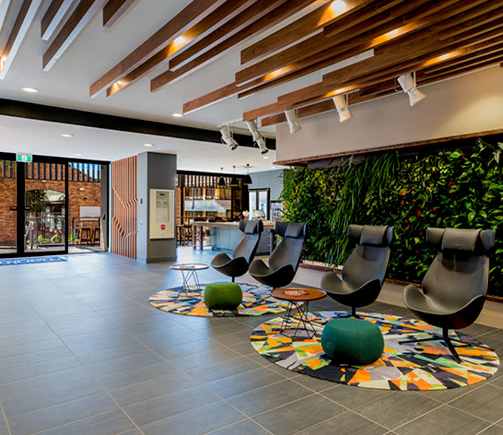 Richmont Hotel, Cottee Parker Architects, Real Visuals Photography