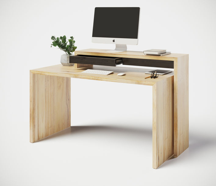 Naco Designs | Nango-19 Desk with NannUp Shelf | Available from Stylecraft