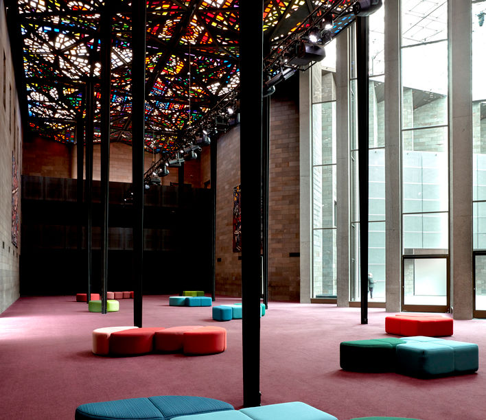 NGV Great Hall | Bauhaus by Helen Kontouris | Photography by Sean Fennessy