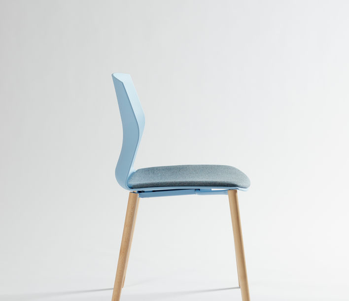 Akaba | Kabi 4 Leg Timber Chair | Exclusively available from Stylecraft