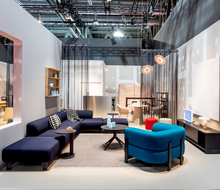 Salone del Mobile Report 2019 | Karimoku New Standard\'s stand for 2019