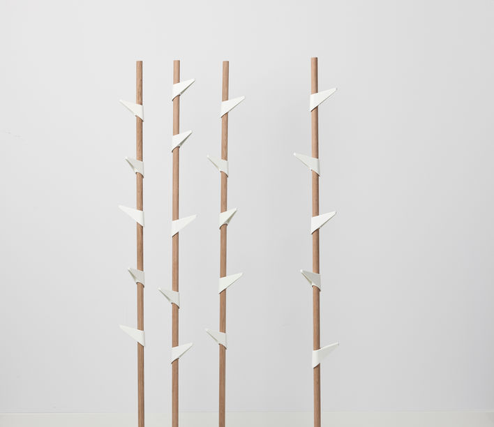 Bamboo Coat Stand 1