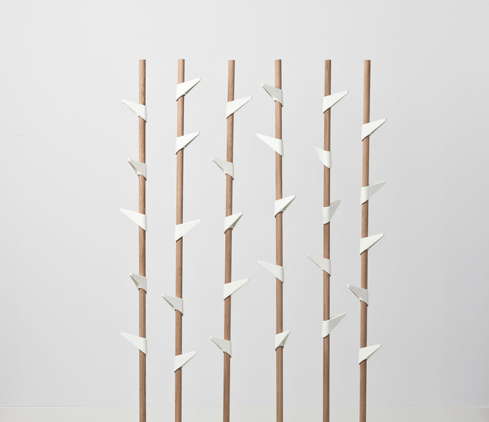 Bamboo Coat Stand 2