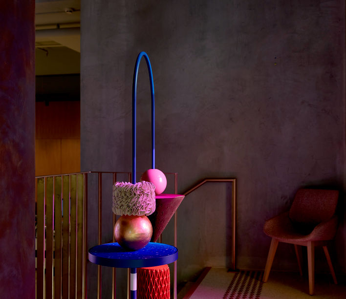 Elementary Abacus by Marta Figueiredo, finalist in the AFDA 2020 presented by Stylecraft and the NGV