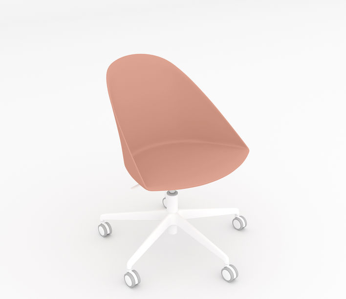 Arper | Cila 5 Way Castor Chair | Stylecraft