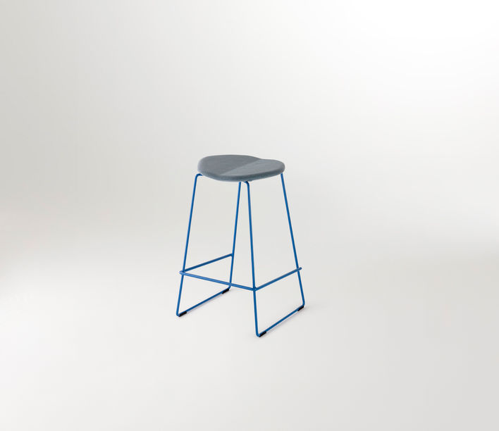 Ross Gardam | Duet Barstool | Available exclusively from Stylecraft