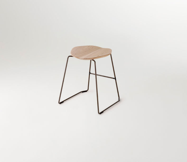 Ross Gardam | Duet Low Stool | Available exclusively from Stylecraft