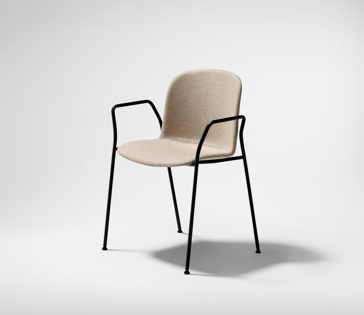 Infiniti Design | Relief 4 Leg Sled Armchair | Stylecraft