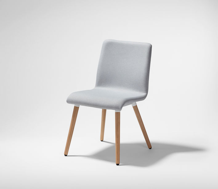 Stylecraft | George 4 Leg Timber Chair | Stylecraft