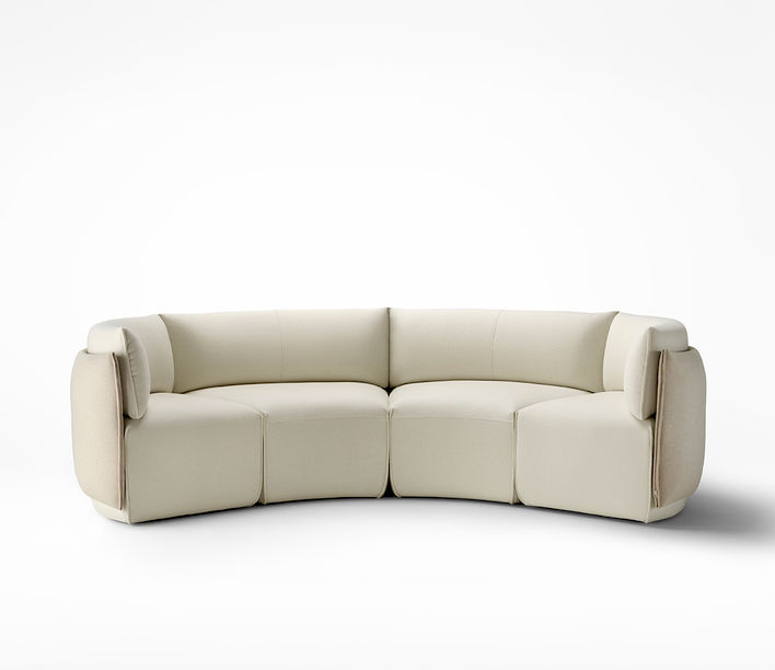 Ross Gardam   Place Curve Modular Lounging   Available exclusively from Stylecraft