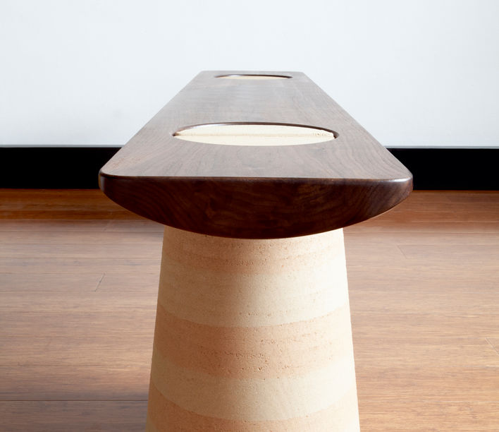 Anthropic Bench by James Walsh, winner of the AFDA 2020 presented by Stylecraft and the NGV