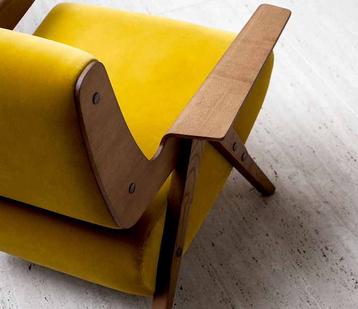 Tacchini | Lina Armchair | Exclusively available fromn Stylecraft
