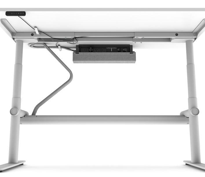 Thinking Works | Stix Workstation | Cable Management Tray and Umbilical | Exclusively available from Stylecraft