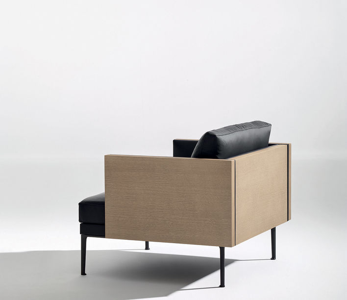 Steeve Lounge by Arper
