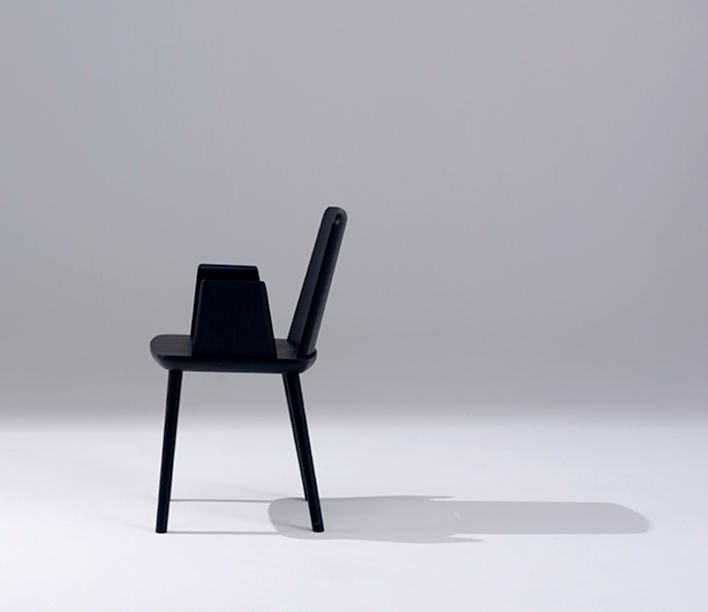 Tablet Chair and Armchair by Sipa