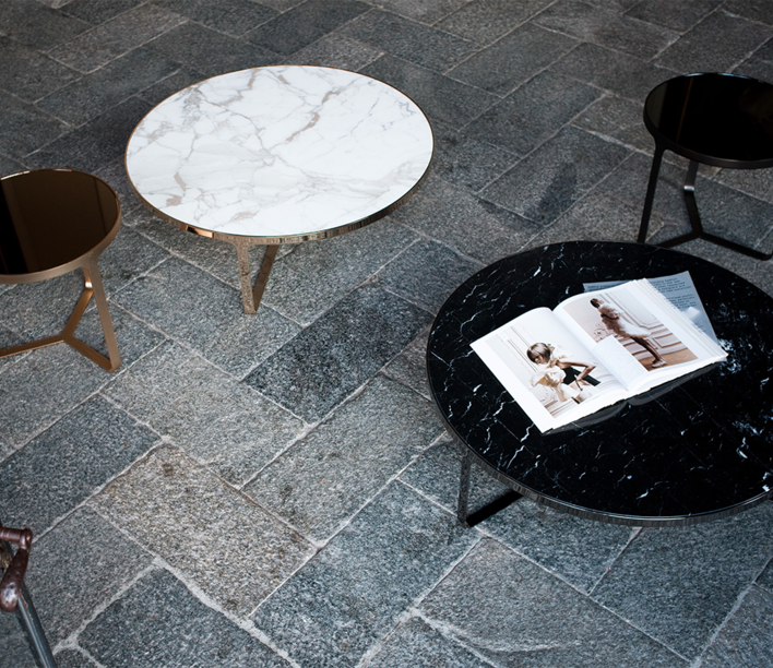 Tacchini | Cage Tables | Stylecraft