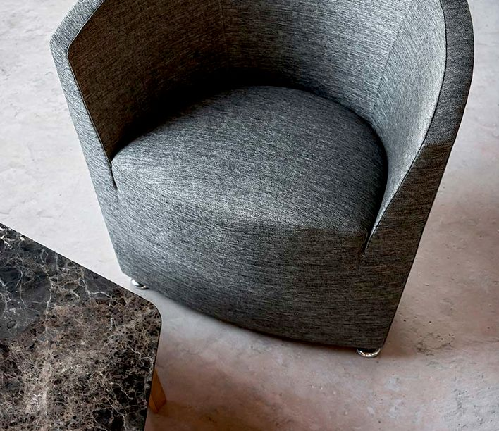 Tacchini | Parentesi Lounge Chair | Stylecraft