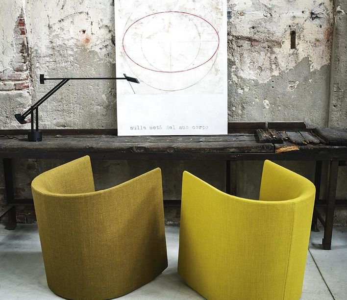 Tacchini | Pisa Armchair | Exclusively available from Stylecraft