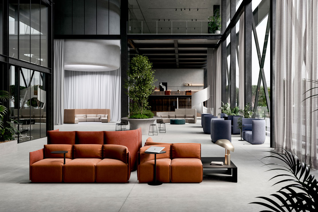 Ross Gardam   Place Modular Lounging   Available exclusively from Stylecraft