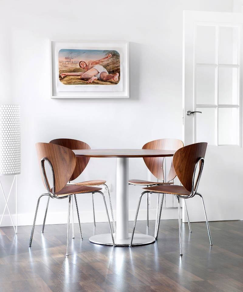 Globus Timber Chair Stylecraft Meeting Dining Breakout