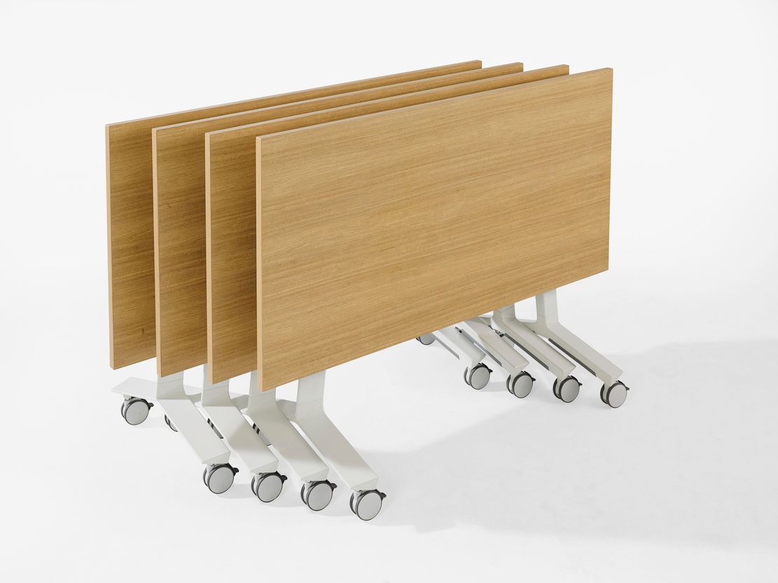 Blade Folding Table by Thinking Works