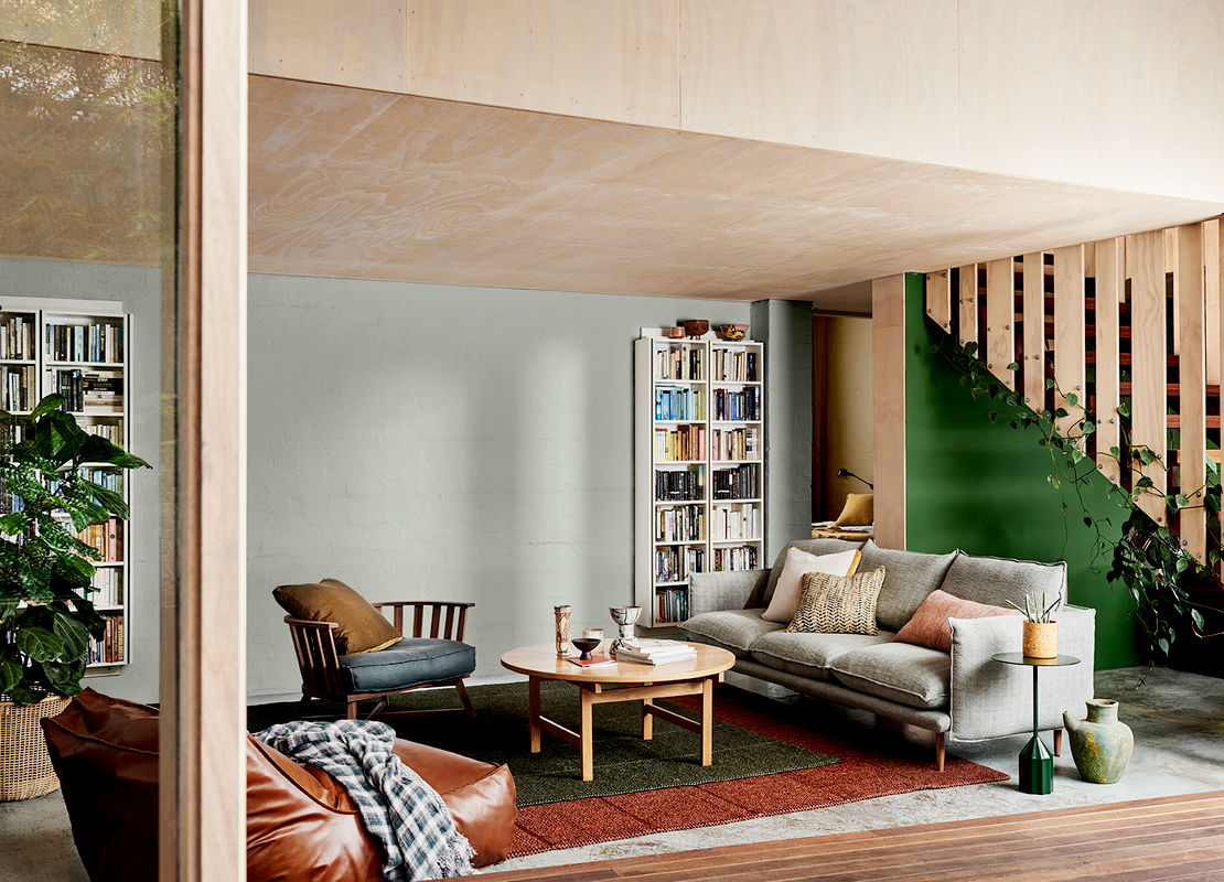 Dulux Colour Forecast 2019, \'Repair\' trend. Styling by Bree Leech, photography by Lisa Cohen.