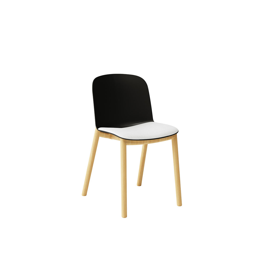 Infiniti Design | Relief 4 Leg Timber Chair | Exclusively available from Stylecraft