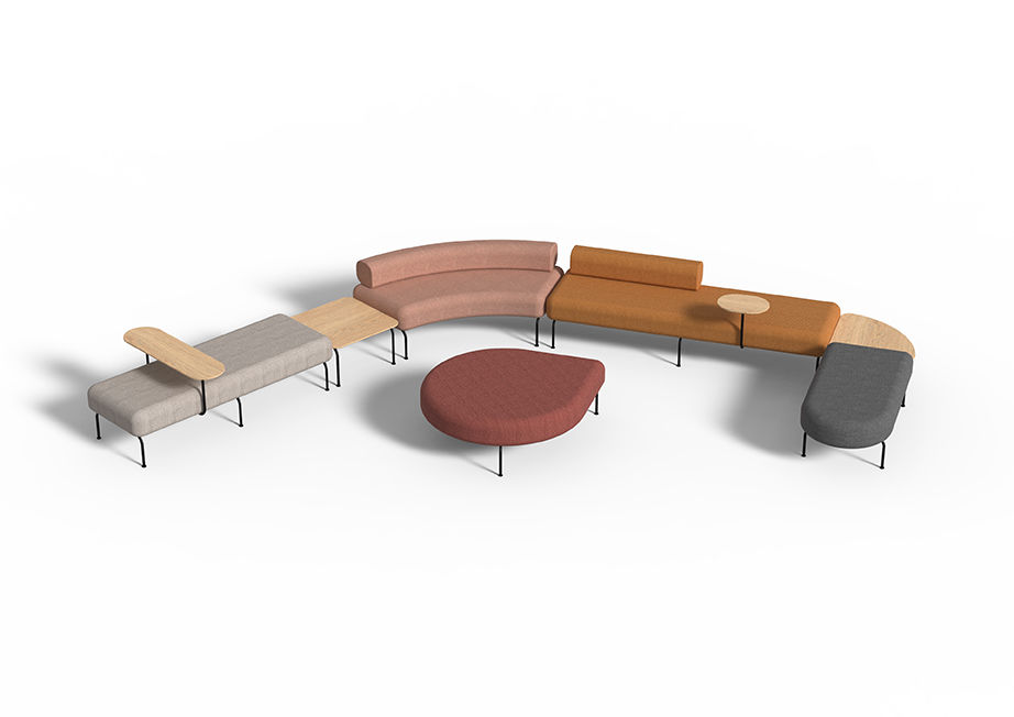 Skeehan Studio | Nave Modular Ottoman | Exclusively available from Stylecraft