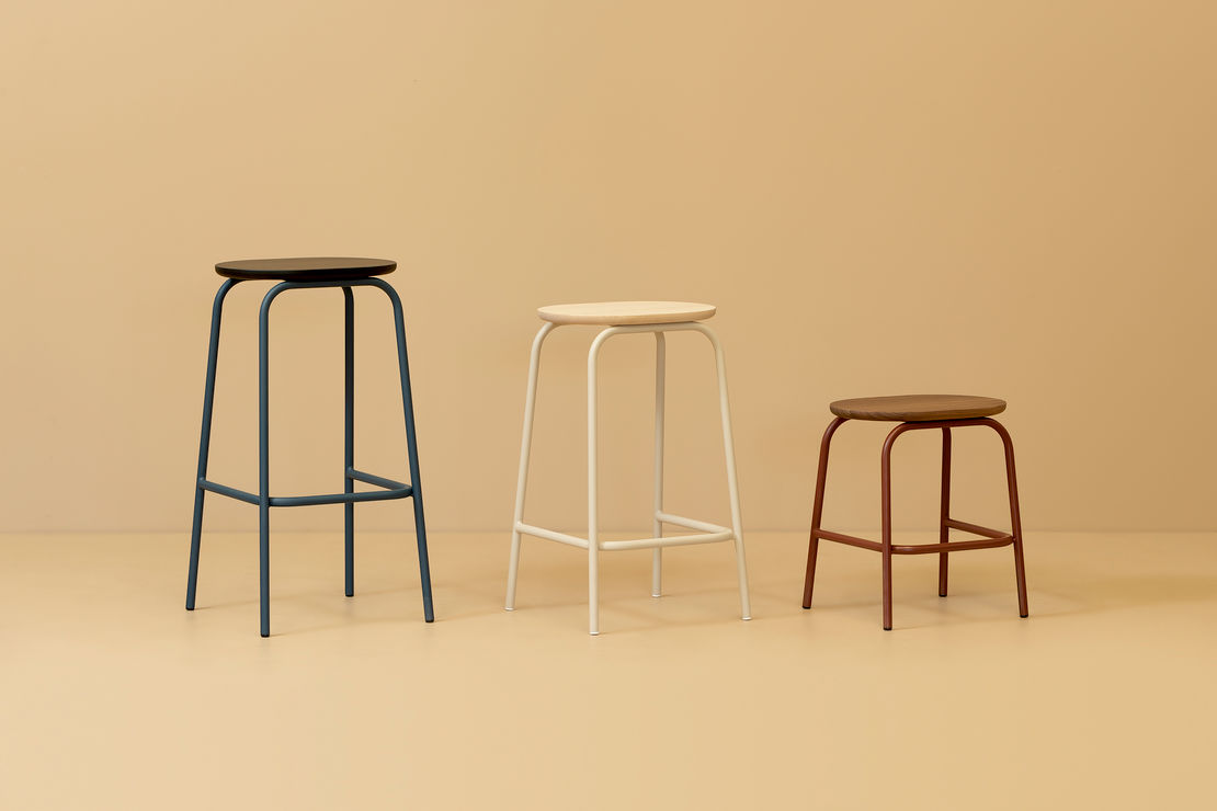 Skeehan Studio | Nave Barstool | Exclusively available from Stylecraft
