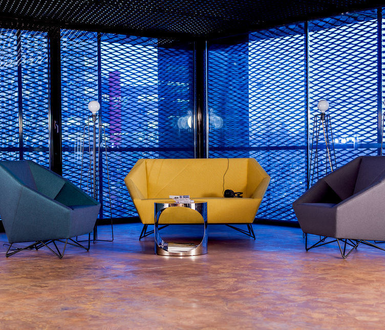 3angle Lounge by Prostoria