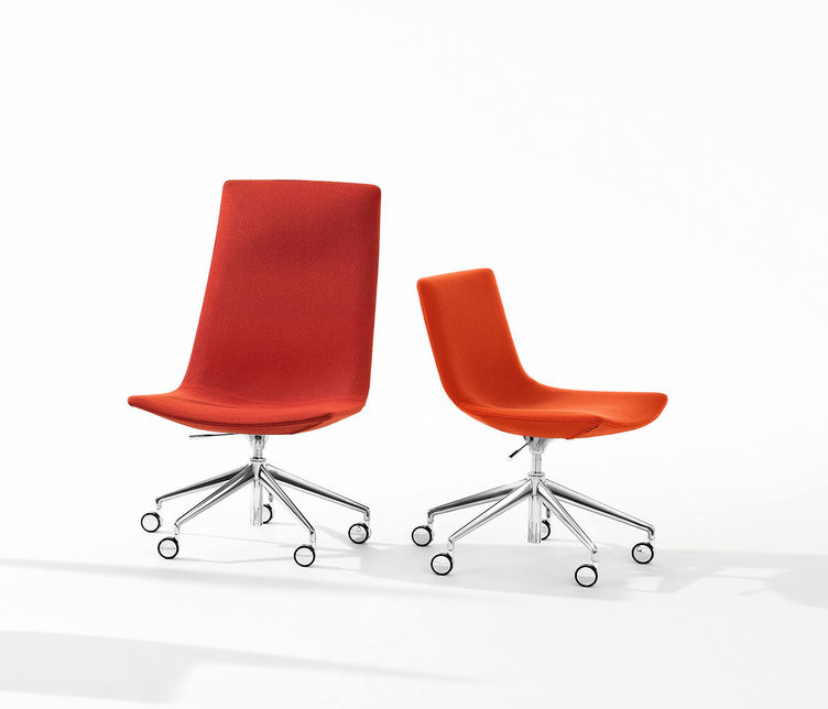 Arper | Catifa 60 Exective Castor Chair | Exclusively available from Stylecraft