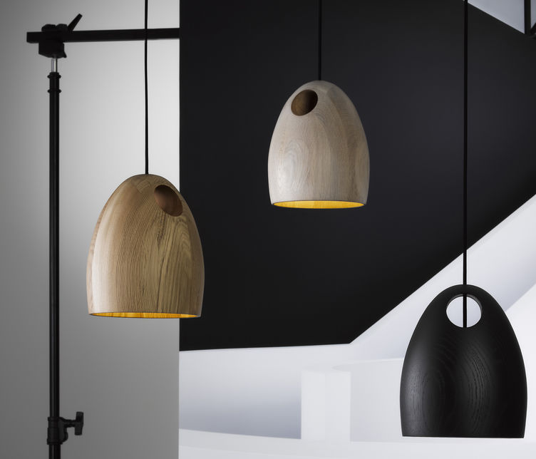 Oak Pendant by Ross Gardam