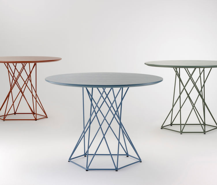 Asymmetry Tall Table
