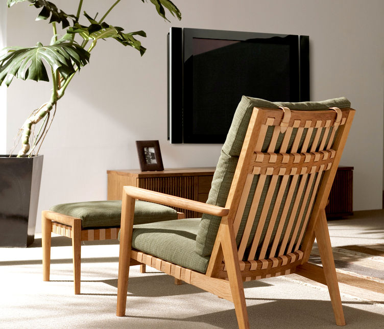 Blava High back Easy Chair