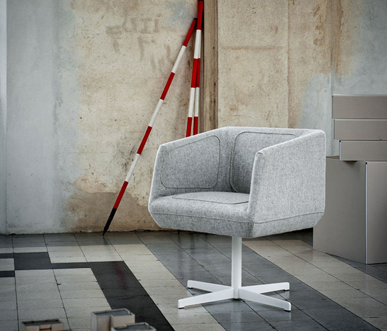 Dressed Swivel Armchair