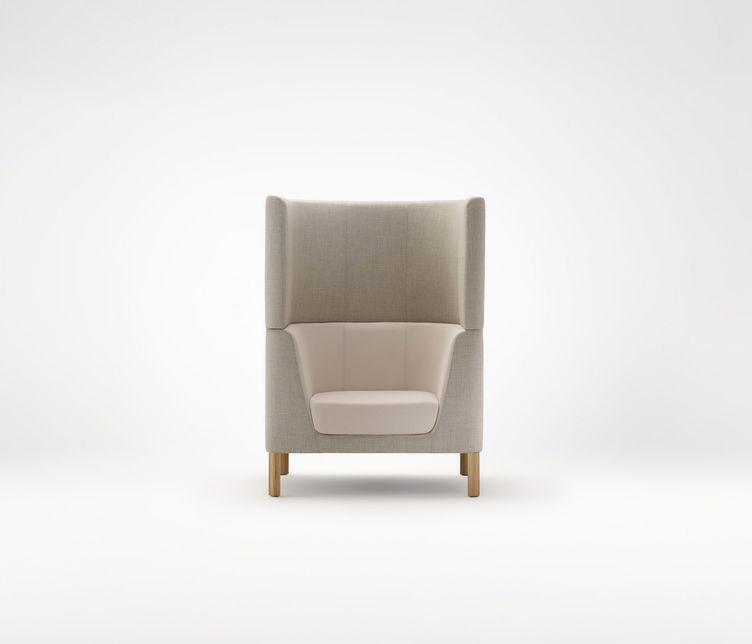 Ross Gardam | Tailored High-Back Armchair | Exclusively available from Stylecraft