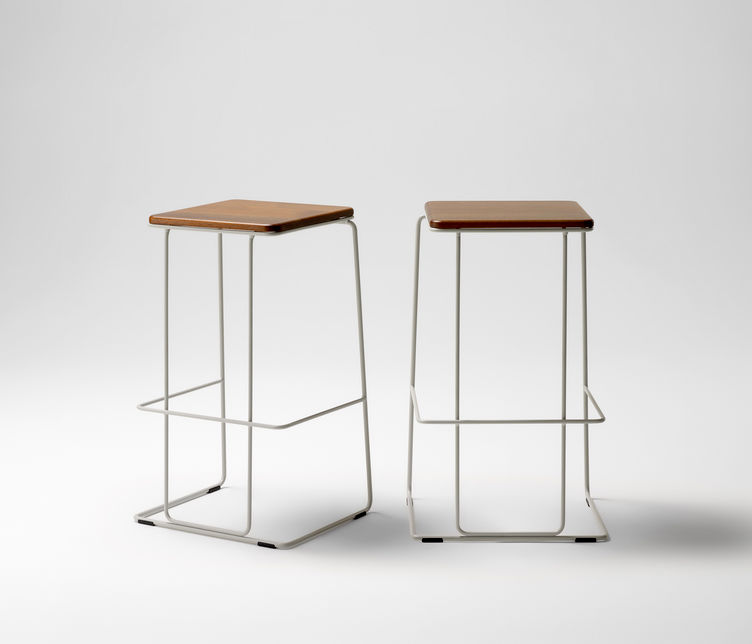 Studio McKeon | Paperclip Bar Stool | Exclusively available from Stylecraft
