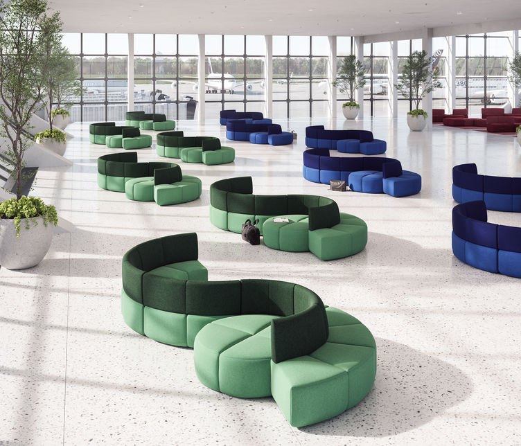 LEN | Bauhaus Seating System | Exclusively available from Stylecraft