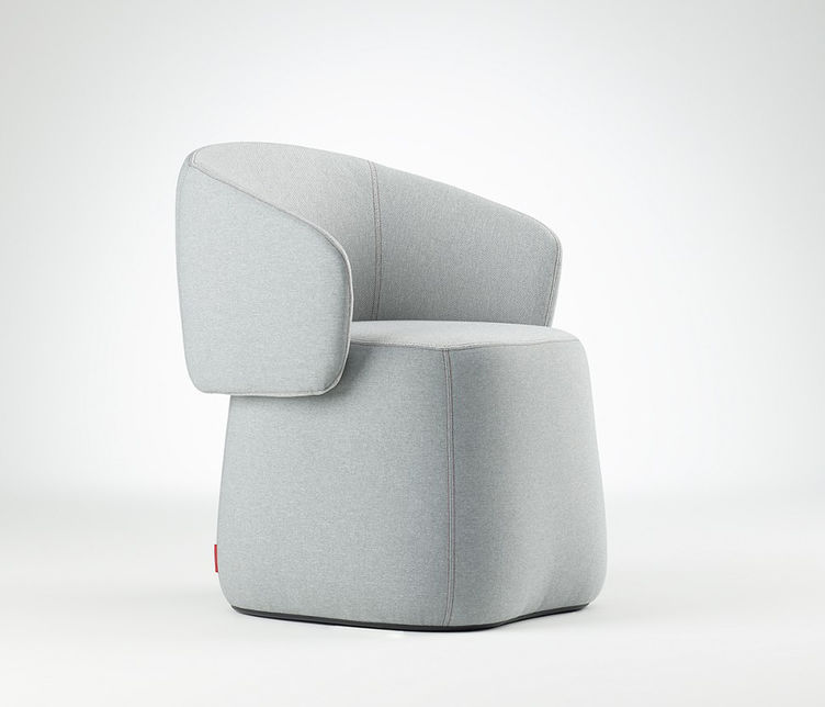 Openest Chick Ottoman | Haworth | Available from Stylecraft