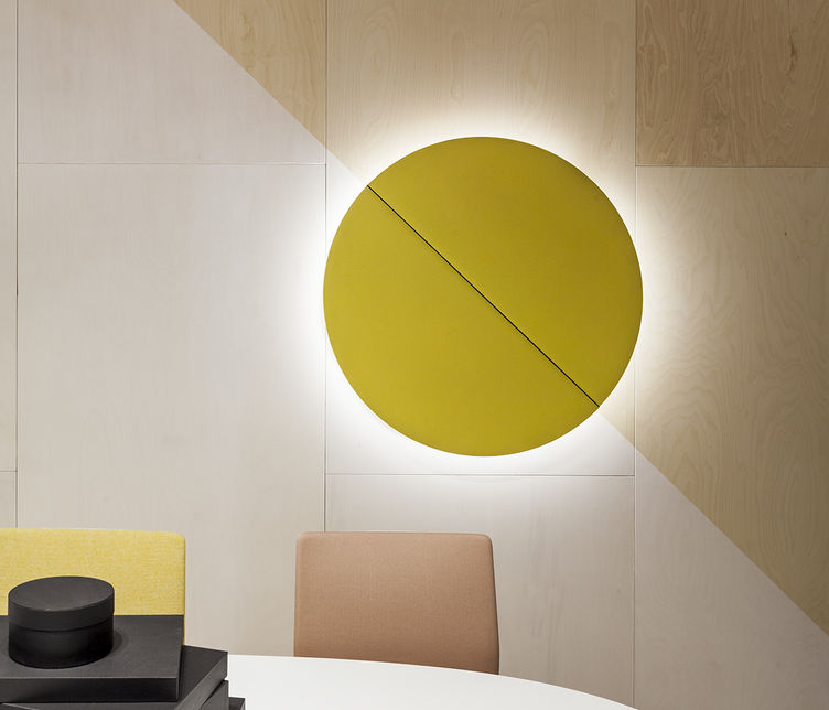 Parentesit Wall Panels by Arper