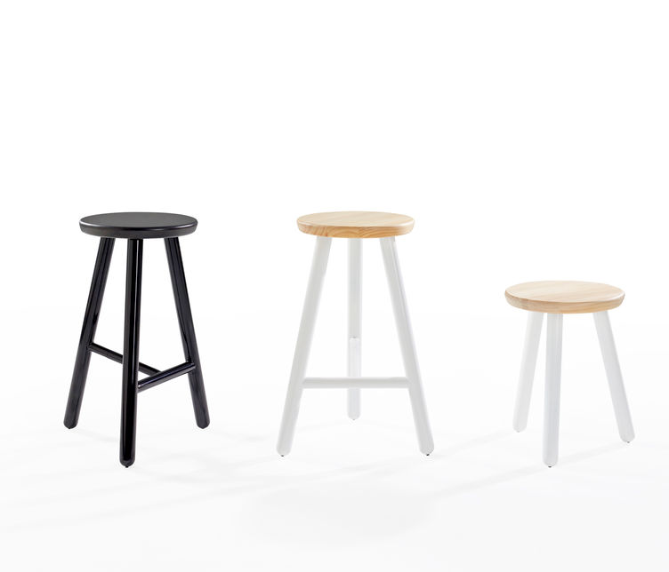 Picket Low Stool