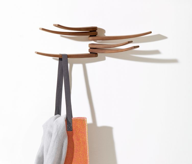 Wing Wall-Mounted Coat Rack